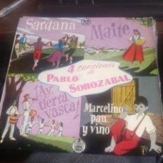 Discos de vinilo: PABLO SOROZABAL. Lote 262415395