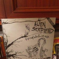 Discos de vinilo: ALIEN SEX FIEND / IGNORE THE MACHINE / OLD GOLD 1994. Lote 262416240