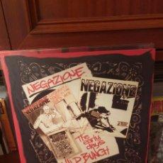 Discos de vinilo: NEGAZIONE / THE EARLY DAYS WILD BUNCH / NO NEVER RECORDS 2012. Lote 262417000