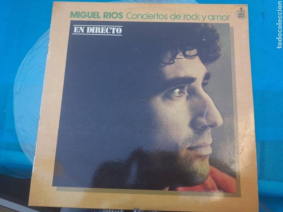 LP DE MIGUEL RÍOS CONCIERTOS DE ROCK Y AMOR (Música - Discos - LP Vinilo - Rock & Roll)