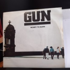 Discos de vinilo: GUN(2) -MONEY TO BURN. Lote 262425245