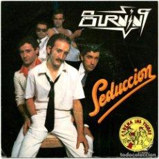 Discos de vinilo: BURNING – SEDUCCIÓN - SG SPAIN 1979 - SG SPAIN 1979 - OCRE 1-10.061. Lote 262429510