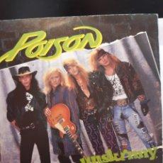 Discos de vinilo: POISON(3) UNSKINNY BOP. Lote 262430345