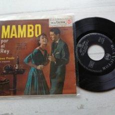 Discos de vinilo: PÉREZ PRADO Y SU ORQUESTA* – MAMBO POR EL REY EP SPAIN. Lote 262433745