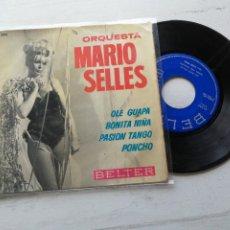 Discos de vinilo: ORQUESTA MARIO SELLÉS – OLE GUAPA EP SPAIN 1954. Lote 262434665