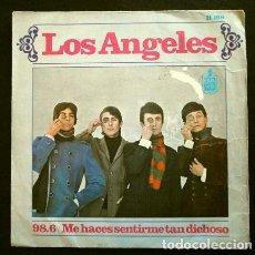 Discos de vinilo: LOS ANGELES (SINGLE 1967) 98.6 - ME HACES SENTIRME DICHOSO. Lote 262439280