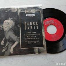 Discos de vinilo: ORQUESTA DE BAILE THE VARA – DANCE PARTY EP SPAIN 1968 VINILO VG++/PORTADA VG+. Lote 262440875
