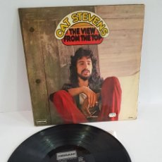 Disques de vinyle: CAT STEVENS / THE VIEW FROM THE TOP. Lote 262441685