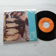 Discos de vinilo: HENRI RENÉ AND HIS ORCHESTRA – FELICIDADES EP SPAIN 1965 VG++/VG++ CLASICA. Lote 262443555