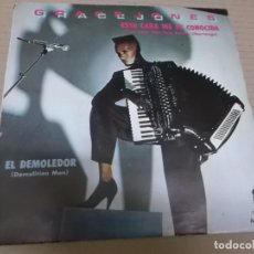Discos de vinilo: GRACE JONES (SINGLE) I'VE SEEN THAT FACE BEFORE LIBERTANGO AÑO 1981 - PROMOCIONAL. Lote 262446010