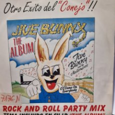 Discos de vinilo: JIVE BUNNY AND THE MASTERMIXERS ROCK AND ROLL PARTY MIX. Lote 262449105