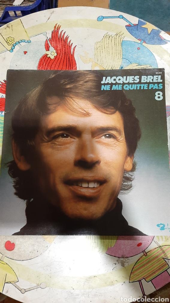 1972 JACQUES VREL NE ME QUITTE PAS LP BUENO ESTADO DISCOS COLISEVM COLECCIONISMO ANTIGÜEDADES (Música - Discos - LP Vinilo - Canción Francesa e Italiana)