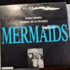 """Discos de vinilo: VARIOUS-MEDLEY BANDA SONORA ORIGINAL """"MERMAIDS """". Lote 262457520"""