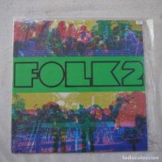 Discos de vinilo: FESTIVAL FOLK 2 - LP 1968. Lote 262458010