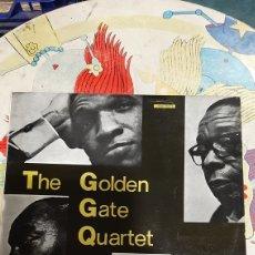 Discos de vinilo: LP THE GOLDEN GATE QUARTET 1965 BUENO ESTADO VINILO DISCOS COLISEVM COLECCIONISMO ANTIGÜEDADES. Lote 262458405