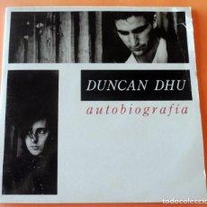 Discos de vinilo: DISCO - 2 LP - DUNCAN DHU - AUTOBIOGRAFÍA - INCLUYE ENCARTE - 1989. Lote 262459135