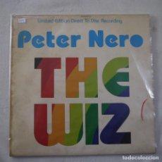 Discos de vinilo: PETER NERO - THE WIZ - MAXISINGLE 1977 USA. Lote 262461095