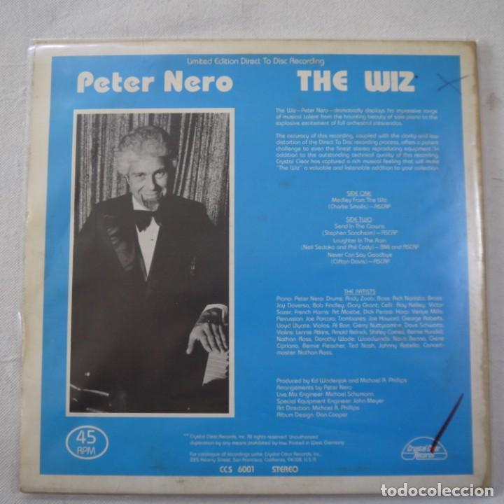 Discos de vinilo: PETER NERO - THE WIZ - MAXISINGLE 1977 USA - Foto 2 - 262461095