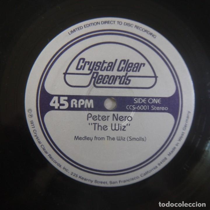 Discos de vinilo: PETER NERO - THE WIZ - MAXISINGLE 1977 USA - Foto 3 - 262461095