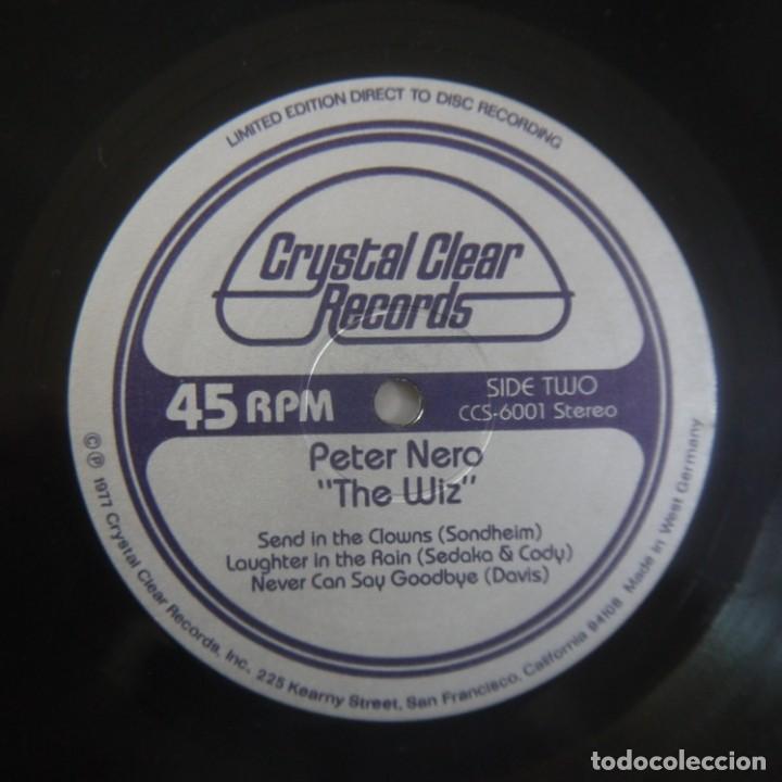 Discos de vinilo: PETER NERO - THE WIZ - MAXISINGLE 1977 USA - Foto 4 - 262461095