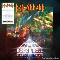 Discos de vinilo: DEF LEPPARD ROCK & ROLL ,HALL OF FAME. Lote 262461615