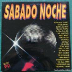 Discos de vinilo: SABADO NOCHE (2XLP, COMP). Lote 262462815