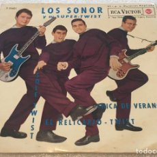 Disques de vinyle: EP LOS SONOR Y SU SUPER TWIST - SOLE TWIST Y OTROS TEMAS - LOTE RESERVADO POR OTRO USUARIO. Lote 262464580