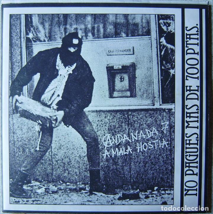 ANDANADA 7.A MALA HOSTIA...EX+ (Música - Discos - LP Vinilo - Punk - Hard Core)