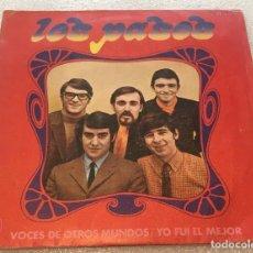 Discos de vinilo: SINGLE LOS PASOS - VOCES DE OTROS MUNDOS - YO FUI EL MEJOR - HISPAVOX H269 -PEDIDO MINIMO 7€. Lote 262468885
