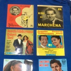 Discos de vinilo: LOTE 20 DISCOS SINGLES. FLAMENCO VARIADO. AÑO 50/60. Lote 262487960