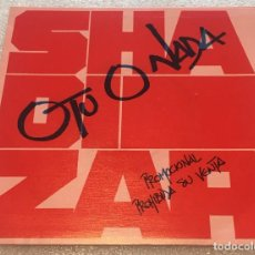 Discos de vinilo: SINGLE PROMOCIONAL SHADIZAR - O TU O NADA - MENTIRAS -PEDIDO MINIMO 7€. Lote 262493080