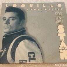 Discos de vinilo: SINGLE PROMOCIONAL LOQUILLO Y LOS TROGLODITAS - ROCK'N'ROLL STAR - HISPAVOX -PEDIDO MINIMO 7€. Lote 262493175