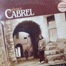 Discos de vinilo: FRANCIS CABREL.** CARTA POSTALE **. Lote 262509485