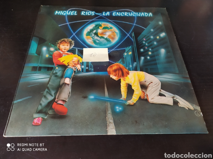MIGUEL RÍOS. LA ENCRUCIJADA. (Música - Discos - LP Vinilo - Rock & Roll)