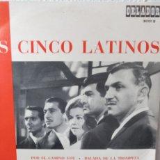 """Discos de vinilo: LOS CINCO LATINOS.** LOS CINCO LATINOS ** 10"""". Lote 262513755"""