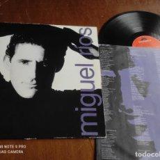 Discos de vinilo: MIGUEL RÍOS – MIGUEL RÍOS-POLYDOR -1989- MIENTRAS QUE EL CUERPO AGUANTE +9. Lote 262514155