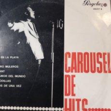 """Discos de vinilo: CAROUSEL DE HITS. ** JORGE CON LOS SONOR - ALFREDO C/ FRANK GRANADA...**10"""". Lote 262514265"""