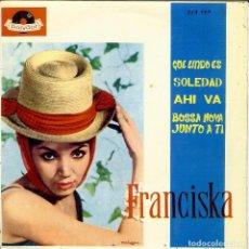 Discos de vinilo: 6 EP'S : FRANCISKA + MARISOL + ENRIQUE GUZMAN + HERMANAS SERRANO + LUIS MARIANO + QUINO PADILLA. Lote 262514935