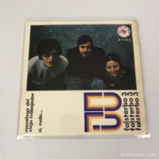 """Discos de vinilo: SINGLE 7"""" - FALSTERBO 3 - MONÓLOGO DEL TRABAJADOR / SI, RUDO... (BARLOVENTO, 1969). Lote 262518355"""