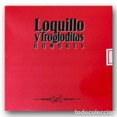 Discos de vinilo: LOQUILLO Y LOS TROGLODITAS - HOMBRES. Lote 262527225