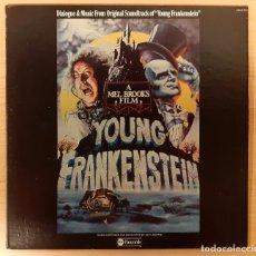 Discos de vinilo: YOUNG FRANKENSTEIN JOHN MORRIS ABC RECORDS USA 1975 COMO NUEVO!! CARPETA DOBLE CON FOTOS. Lote 262531085