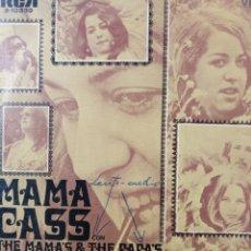 Discos de vinilo: MAMA CASS. THE MAMA'S AND THE PAPA'S.** SUEÑA CONMIGO UN POCO * VIAJE DE MEDIANOCHE **. Lote 262531815