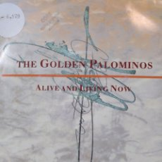 Discos de vinilo: THE GOLDEN PALOMINOS.** ALIVE AND LIVING NOW **. Lote 262533740