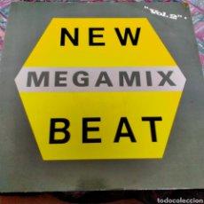 Discos de vinilo: NEW MEGAMIX BEAT.. Lote 262542635