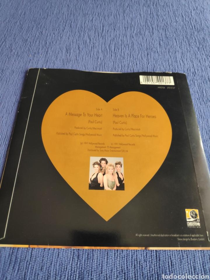 Discos de vinilo: Vinilo single - Eurovision - Samantha Janus - A message to your heart - Foto 3 - 262544490