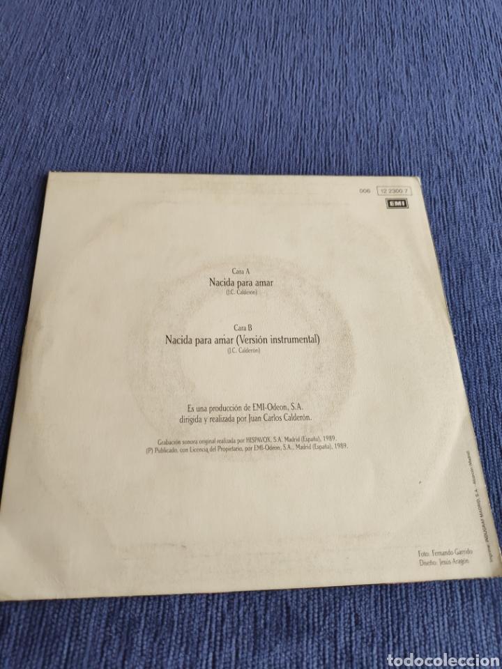 Discos de vinilo: Single vinilo Eurovision - Nina - Nacida para amar + Instrumental - Foto 3 - 262548175