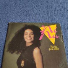 Discos de vinilo: SINGLE VINILO EUROVISION - NINA - NACIDA PARA AMAR + INSTRUMENTAL. Lote 262548175