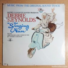 Discos de vinilo: THE SINGING NUN · ORIGINAL SOUND TRACK PRECINTADO! DEBBIE RENOLDS · PRINTED IN USA 1966. Lote 262553175