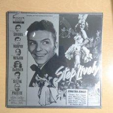 Discos de vinilo: STEP LIVELY · FRANK SINATRA · PRECINTADO! ORIGINAL MOTION PICTURE SOUNDTRACK. Lote 262555935
