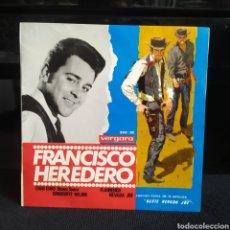 Discos de vinilo: FRANCISCO HEREDERO - CHAO CHAO 1965. Lote 262559785
